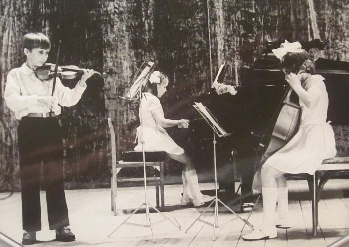 ансамбль ,фото из архива.