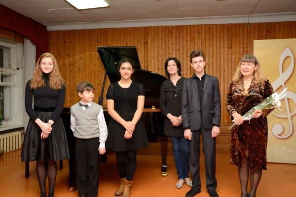 Ксения Вадимовна Кнорре приехала вместе со своими учениками — студентами консерватории
